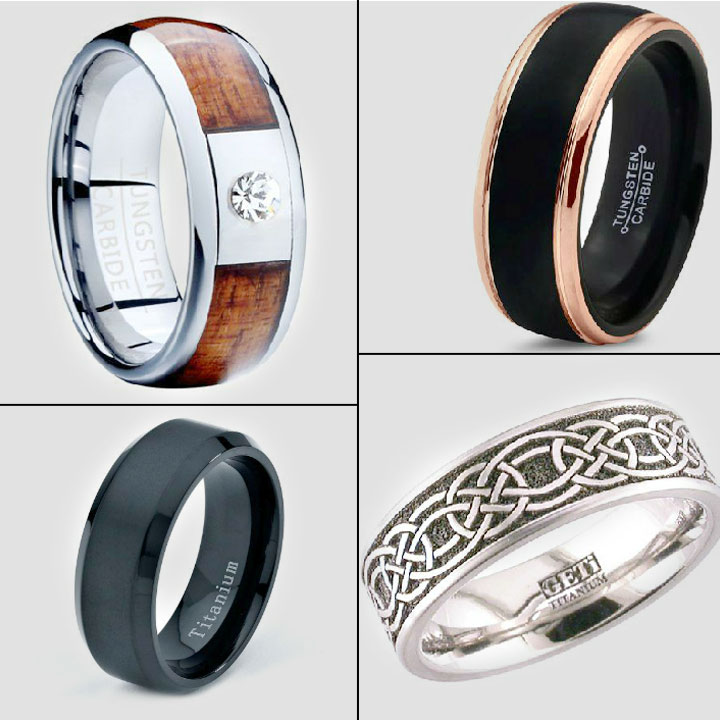 Choosing Exotic Wedding Rings For Men Unique Jewelry