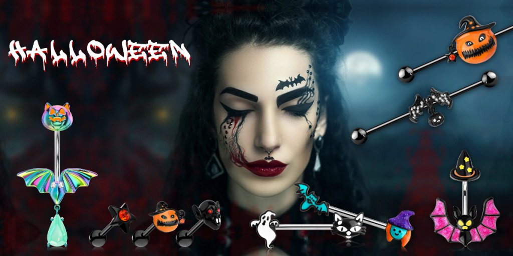 Halloween Body Piercing Jewelry